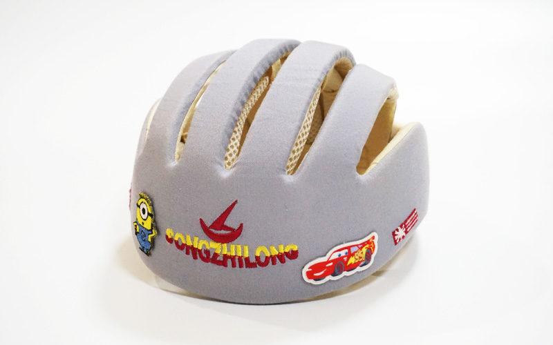 室内・室外の両方で使用できる、乳幼児頭部保護帽子【ヘルメットタイプ】