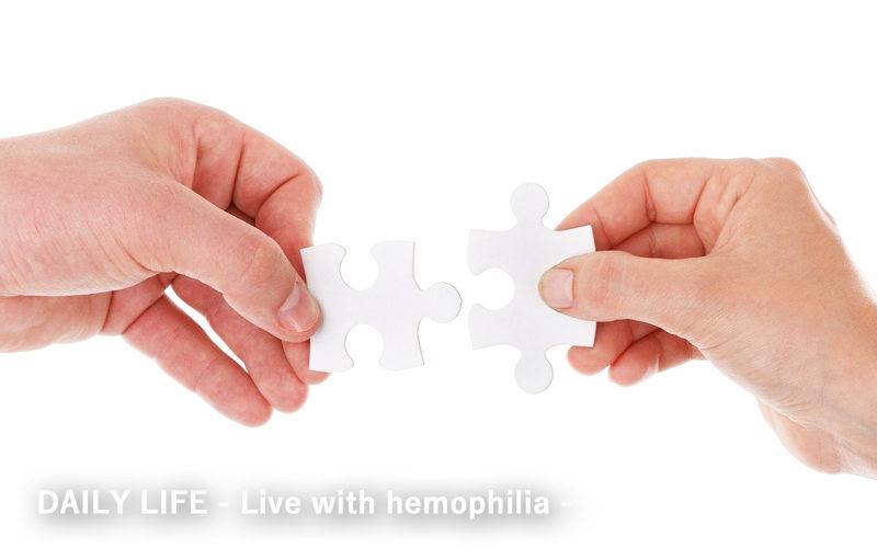 ヘムライブラ使用中の血友病重症者が血友病軽症型について学び長期的出血予防について考える